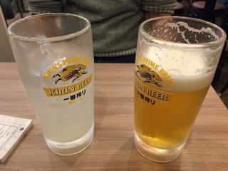生すだちハイ・生ビール
