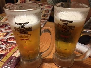 生ビール(プレモル)