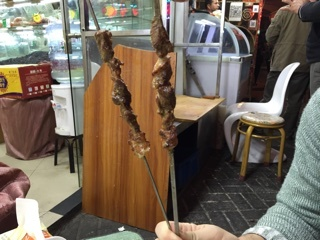 羊肉串お代わり