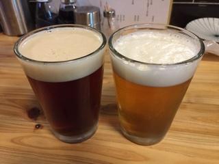 クラフトビール(湘南ビールアルト・沼津ラガー)