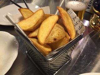 ベルギー産ビンチェ芋のフリッツ