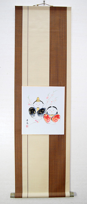 神泉堂オリジナル色紙掛軸F