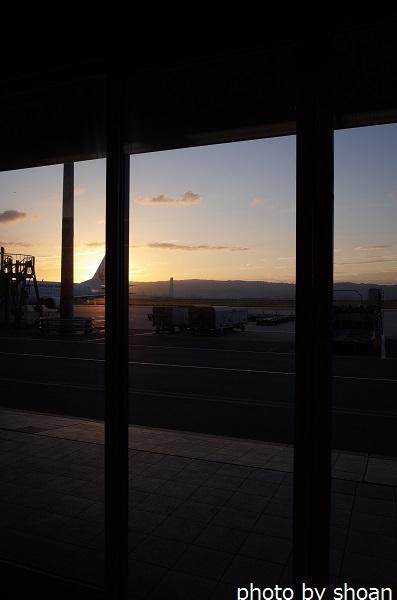 170113朝焼け・関西国際空港