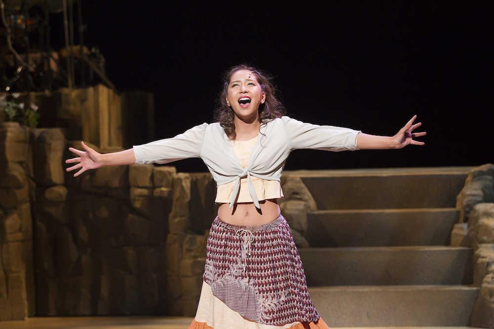 【舞台】最終日まで逃げるなよ…河西智美、ミュージカル初主演の大役に笑顔「やっぱり気持ちいいですね」 SHOWBIZ JAPAN