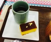 お茶とカステラ