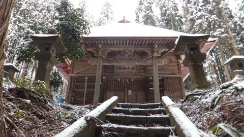老犬神社の外観2