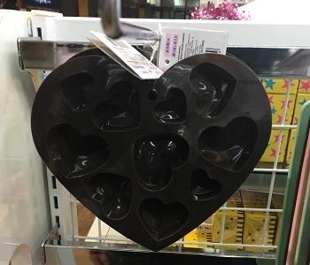 チョコ型はあと