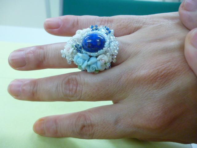 指輪着用イメージ2
