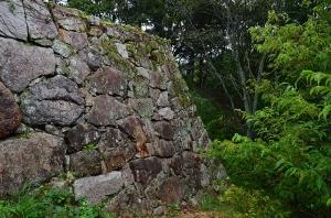 菅谷口の石垣