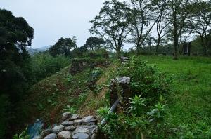千畳平の石垣