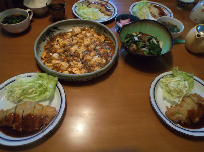 12.4夕食
