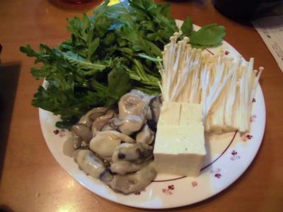 12.2牡蠣鍋の具