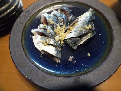 12.18しめ鯖の残り