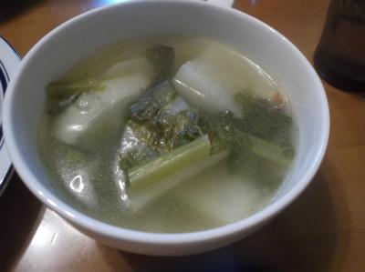 12.23聖護院大根のスープ