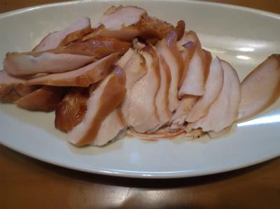 12.25ジューシーな鶏ハム