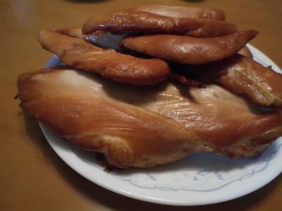 12.25鶏ハムとササミの薫製