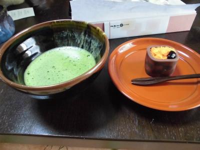 1.1お菓子と抹茶