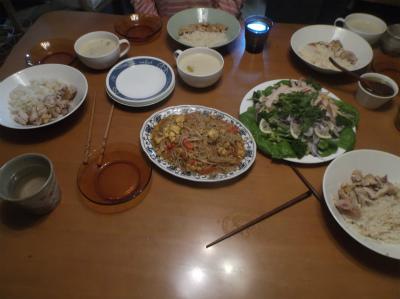 12.30エスニックな夕食