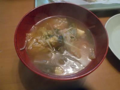 1.8野菜たっぷりのチゲ