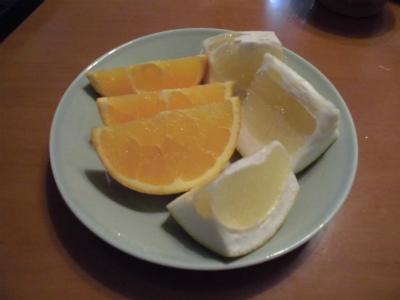 2.1柑橘を食す