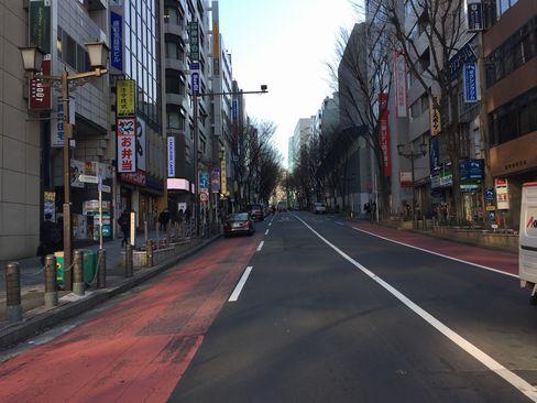 渋谷・宮益坂_H29.01.07撮影