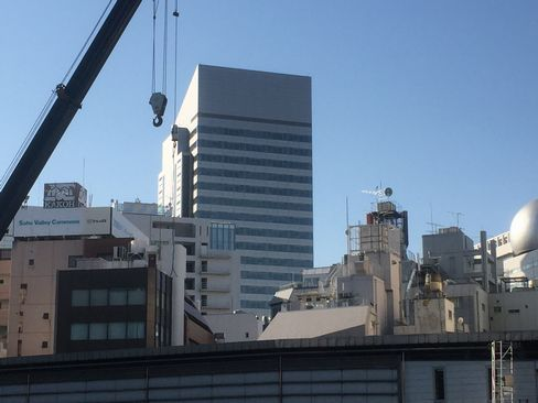 渋谷インフォスタワー_H29.01.07撮影
