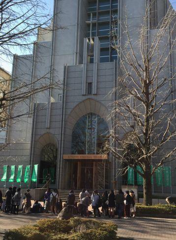 青山学院大学・ガウチャー記念礼拝堂_H29.01.07撮影