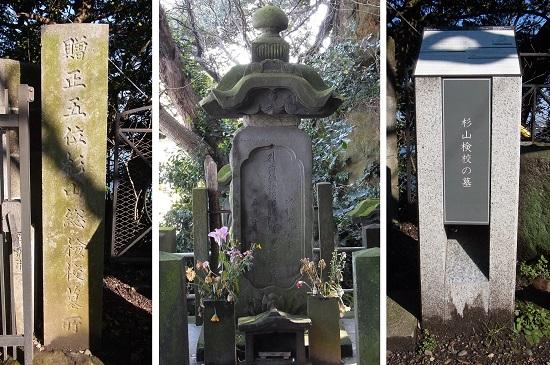 杉山和一墓