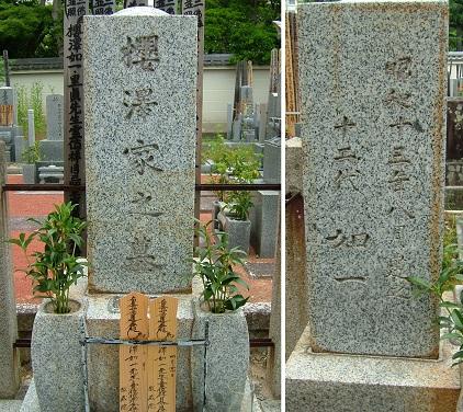 桜沢如一墓