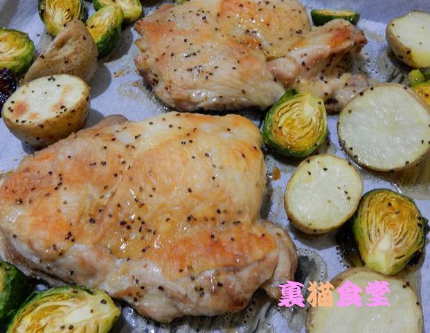 2月10日チキンのオーブン焼き