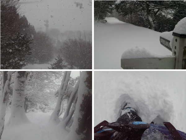 snow ikedayama