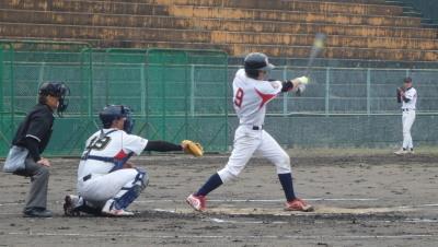 PB204847 肥後銀行1回表2死二塁から4番大山が右前打を放ち1点先制