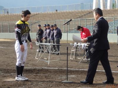 PC185197敢闘賞を受賞 和泉選手