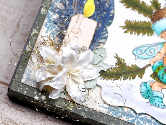Penny Black - Christmas box card