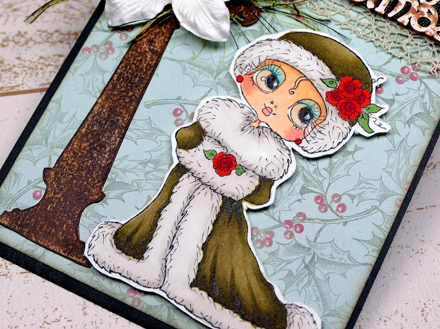 My Besties Winter Time Past- Christmas Card 2