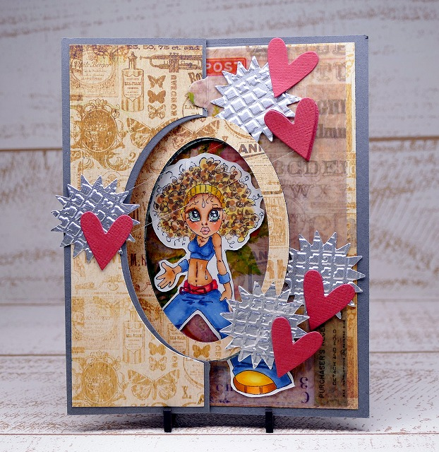 Saturated Canary - Jennifer - Card Making