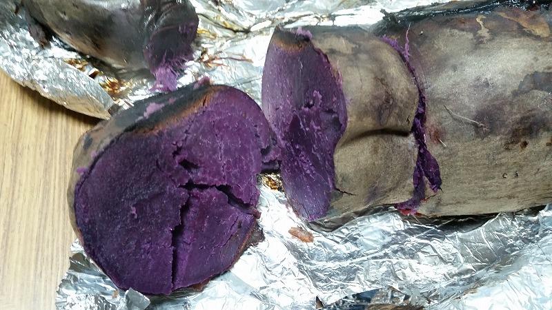 紫芋だったのね