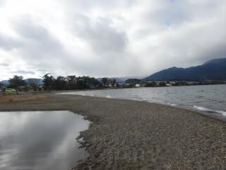 冬の和邇浜