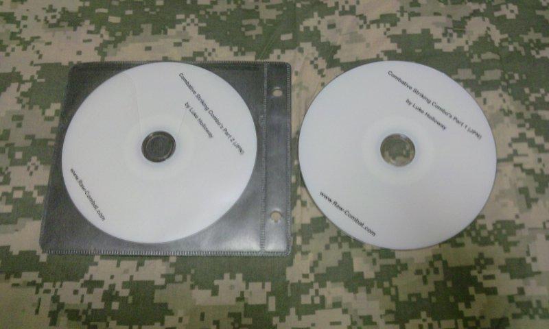 ローコンバットCombative Striking Combo 1&2 DVDセット