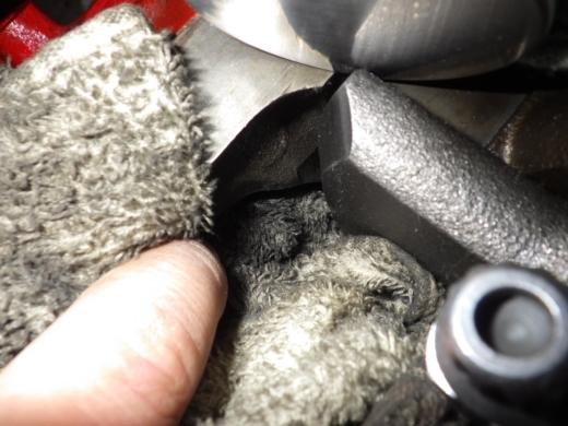 エンジンブロックを削る (2)