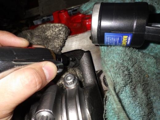 エンジンブロックを削る (4)