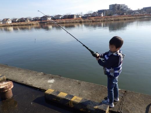 土浦港でワカサギ釣り (10)