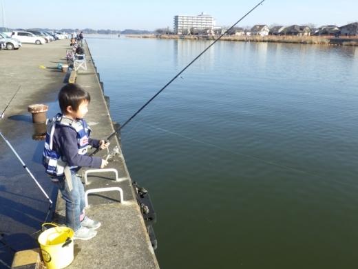 土浦港でワカサギ釣り (18)