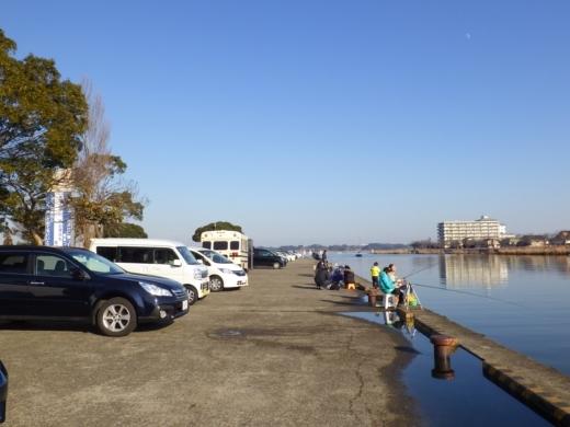 土浦港でワカサギ釣り (25)