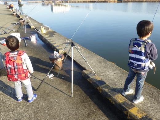土浦港でワカサギ釣り (32)