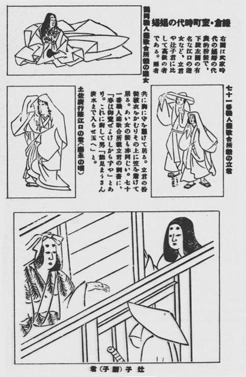 公娼鎌倉室町時代の遊女1