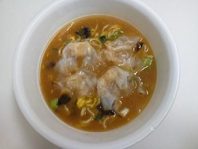 中華三昧 濃厚ふかひれ雲呑麺_05