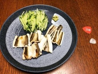 2016-11-24アナゴ白焼き