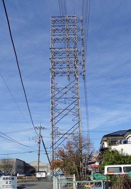 吉野町線42号鉄塔