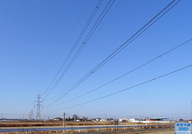 東京中線2083号鉄塔